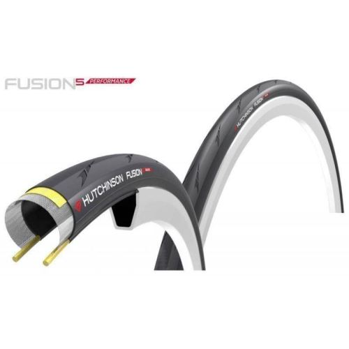 ANVELOPA HUTCHINSON FUSION 5 700 X 23 PERFORMANCE Kevlar Pro Tech 2016 Negru/Rosu