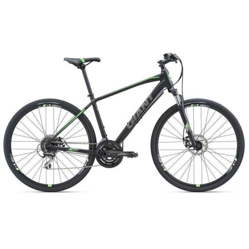 Bicicleta Giant Roam 3 Disc - Matt/Black/Neon Green 2018