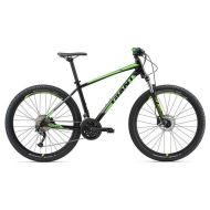 Bicicleta Giant Talon 29er 3 GE - Black/Neon Green/Charcoal 2018