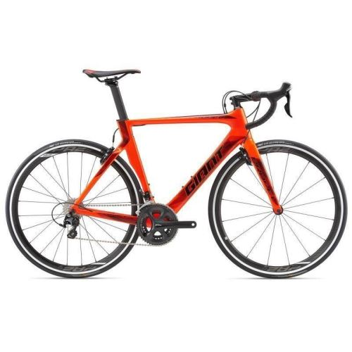 Bicicleta Giant Propel Advanced 2 - Neon Red/Black 2018