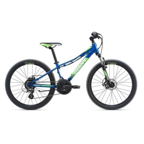 Bicicleta Giant XtC Jr 1 Disc 24 - Electric Blue/Neon Orange/Black 2018