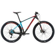 Bicicleta Giant XTC Advanced 29er 3 - Charcoal/Blue/Neon Red 2018