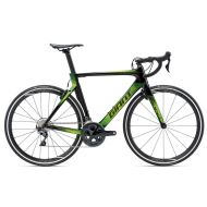 Bicicleta Giant Propel Advanced 1 - Carbon Smoke/Green 2018