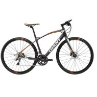 Bicicleta Giant FastRoad CoMax 2 - Satin/Charcoal/Orange 2018