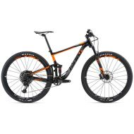 Bicicleta Giant Anthem 29er 1 GE - Satin Black/Charcoal/Orange 2018