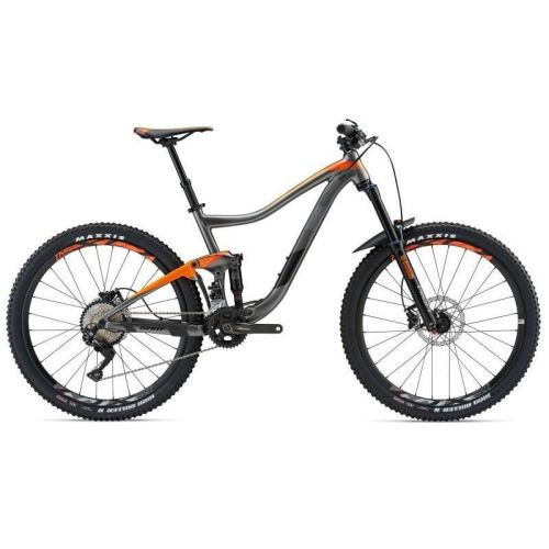 Bicicleta Giant Trance 3 GE - Charcoal/Black/Orange 2018