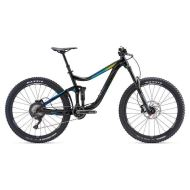 Bicicleta Giant Reign 2 GE - Black/Digital Green 2018