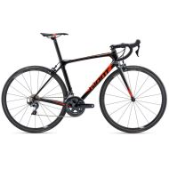 Bicicleta Giant TCR Advanced Pro 1 - Carbon Smoke/Neon Red/Charcoal 2018