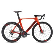 Bicicleta Giant Propel Advanced Disc - Neon Red/Black 2018