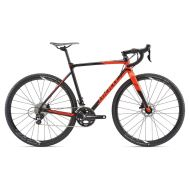 Bicicleta Giant TCX SLR 2 - Matt/Black/Neon Red 2018