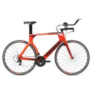 Bicicleta Giant Trinity Advanced - Neon Red/Black/White 2018