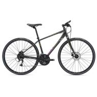 Bicicleta Liv Thrive 2 Disc - Charcoal/Lime/Purple 2018