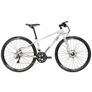 Bicicleta Liv Thrive 1 Disc - White/Black/Rainbow 2018