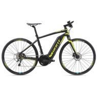 Bicicleta Giant FastRoad E+ - Black/Neon Yellow 2018