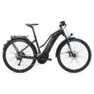 Bicicleta Giant Explore E+ 0 STA - Black/Blue 2018