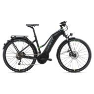 Bicicleta Giant Explore E+ 1 STA - Black/Green 2018