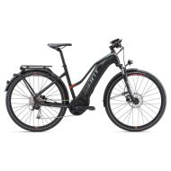 Bicicleta Giant Explore E+ 2 STA - Black/Red 2018