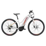 Bicicleta Liv Amiti-E+2 - White/Pink/Orange 2018