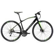 Bicicleta Giant FastRoad SLR 1 - Black/Neon Green/Charcoal 2018
