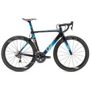 Bicicleta Liv Envie Advanced 1 - Black/Dark Blue/Green 2018