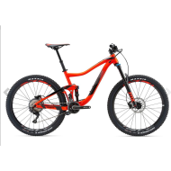 BICICLETA GIANT TRANCE 2 GE NEON RED - M 2018