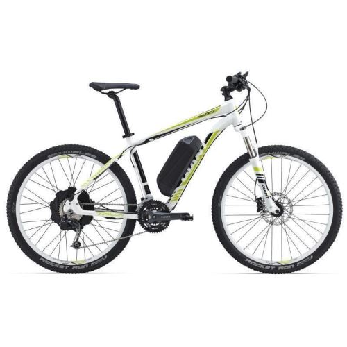 BICICLETA GIANT C TALON E+ 1 WHITE / LIME - M