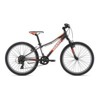 Bicicleta Giant XtC Jr 2 24 - Charcoal/Neon Red/White 2018