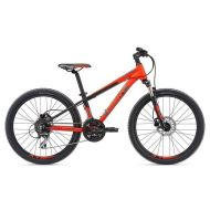 Bicicleta Giant XtC SL Jr 24 - Neon Red/Silver/Black 2018