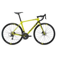 BICICLETA GIANT TCR ADVANCED 2 DISC KING OF MOUNTAIN galben - M / L 2018