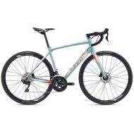 BICICLETA GIANT CONTEND SL 1 DISC GRAY GREEN - M 2019